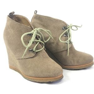 Steve Madden Wedge Tanngoo around Tow Ankle Boot